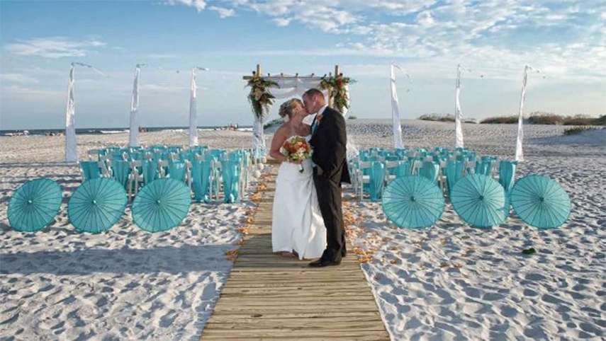 the best wedding hire package